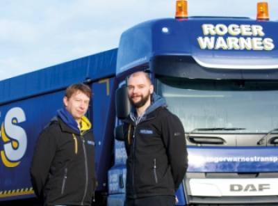 Roger Warnes chooses TransMaS as its TMS Partner