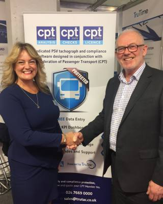 TruTac in the driving seat as new Compliance Control software is launched at CV Show